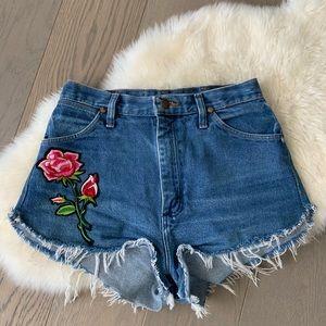 Vintage Wrangler cutoff shorts